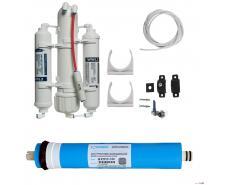 Reverzná osmóza 75 GDP PRO RP/ DI filter a oplachový ventil
