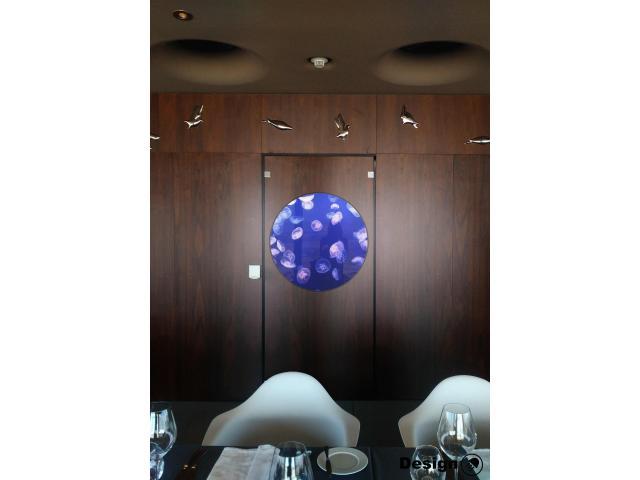 Kreisel jellyfish tank 475 l (Suitable for building into walls) Jellyfish aquariums