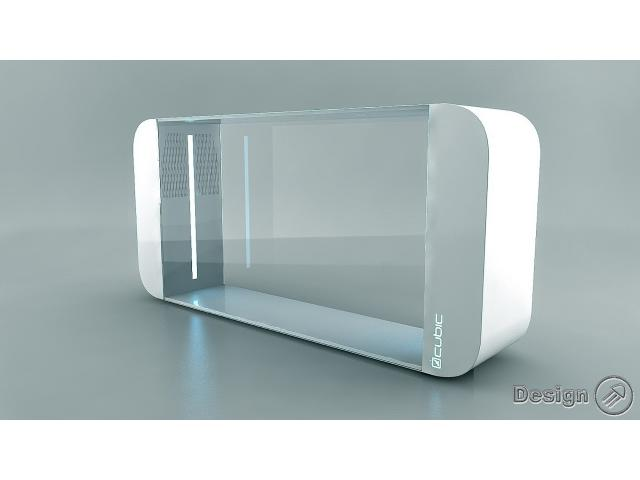 PULSE 160/B - aquarium for jellyfish, white (160 liters) Jellyfish aquariums