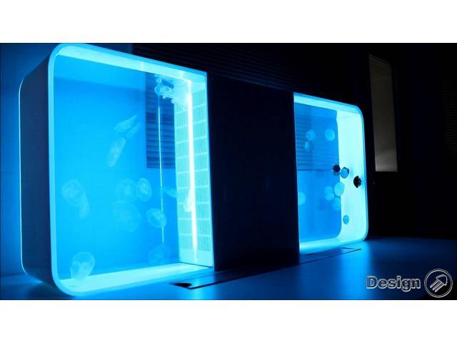 PULSE 80 - Akvárium pro medúzy, bílá (87 litrů) Akvária pro medúzy
