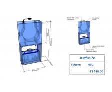Jellyfish Aquarium 49l (can be inbuilt) Jellyfish aquariums