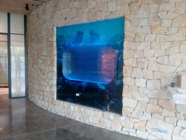 Akvárium pro medúzy 300 l (vhodné pro zabudování) Akvária pro medúzy