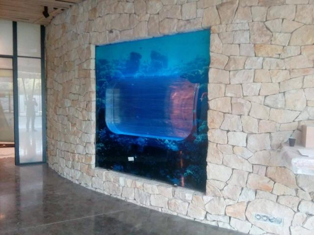 Jellyfish Aquarium 375 l (can be inbuilt) Jellyfish aquariums